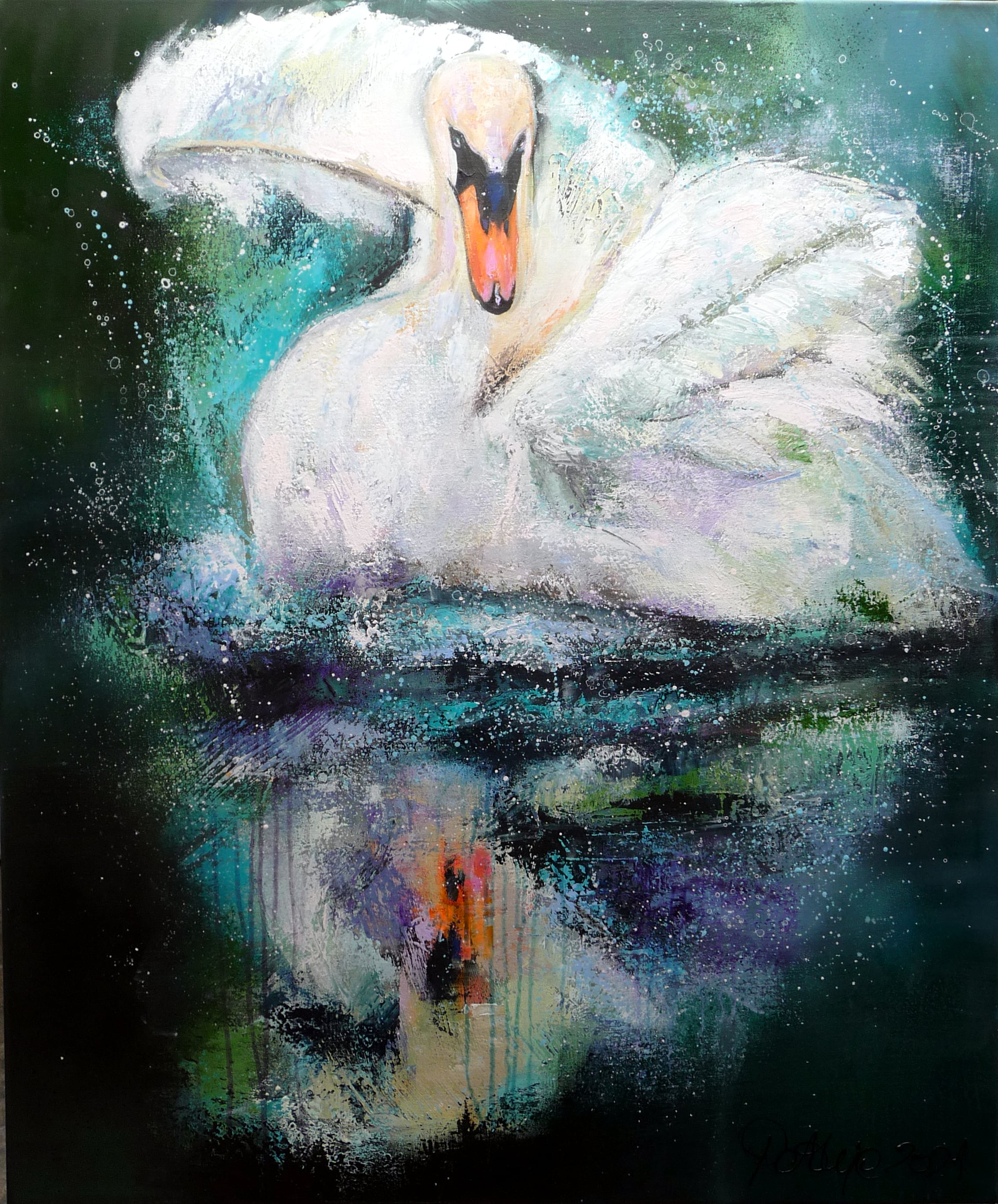 "Motiv:""the swan"""