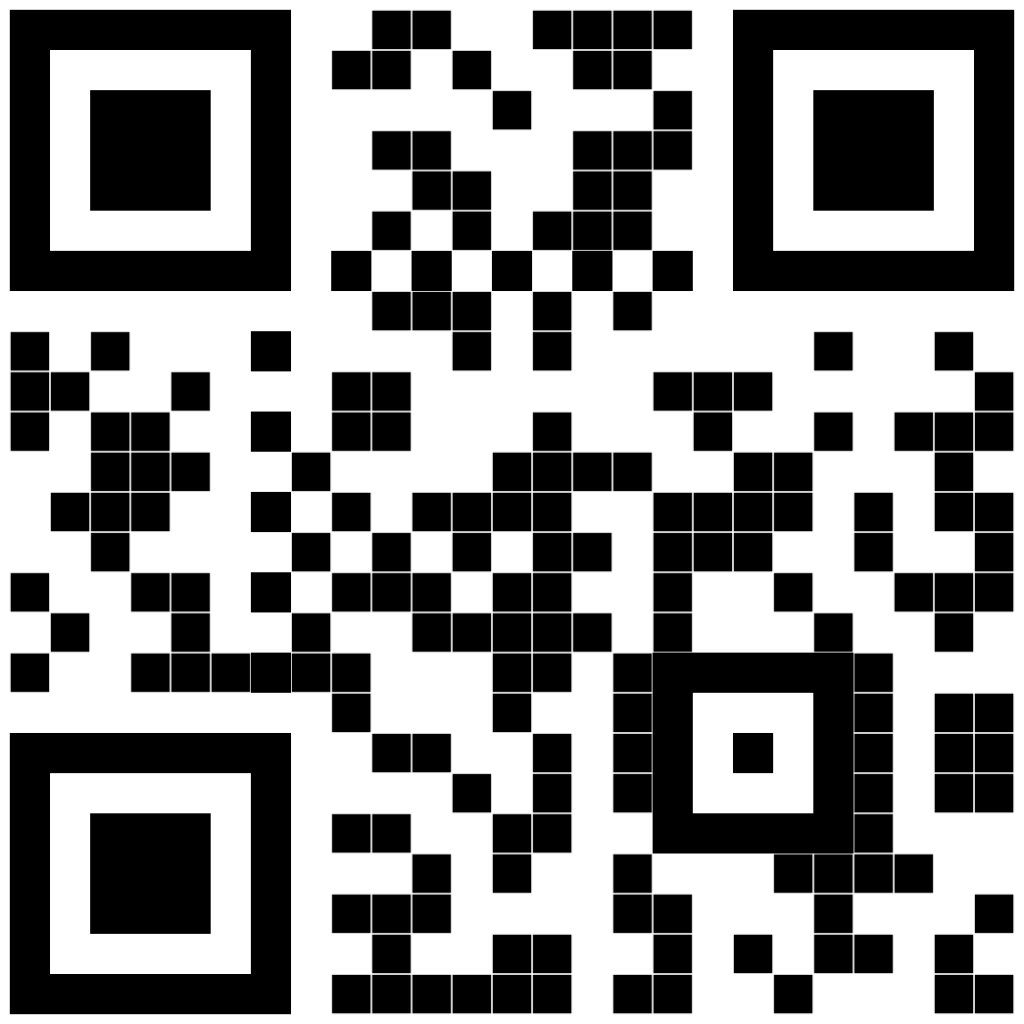QR code to download the Point app on your phone