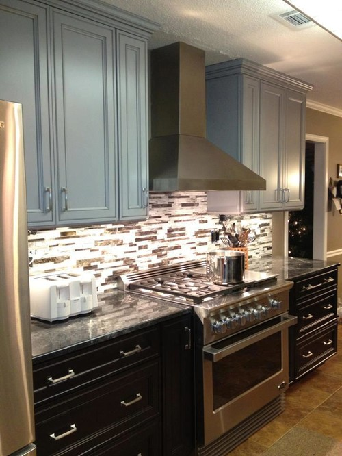 Transitional Kitchen Remodel in DeSoto, MS