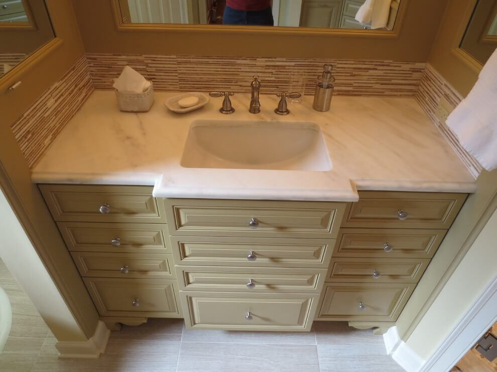 Marble countertop project in Fayette, TN