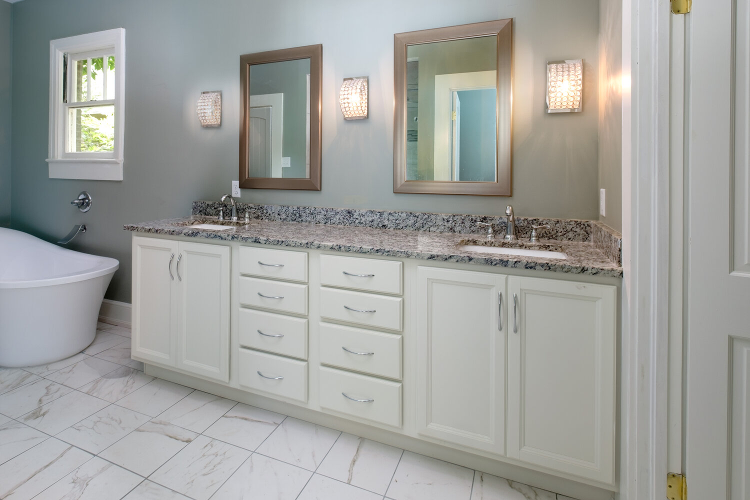 Oxford maple bathroom project