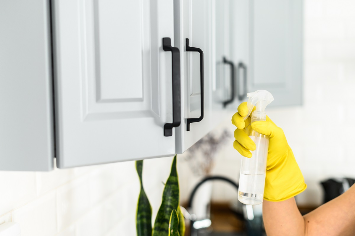 New Kitchen Cabinet Care After Installation