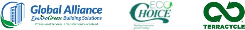 Global Alliance, EcoChoice and Terracycle logos