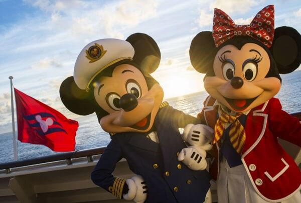Mickey and Mini Mouse on Disney Cruise Line