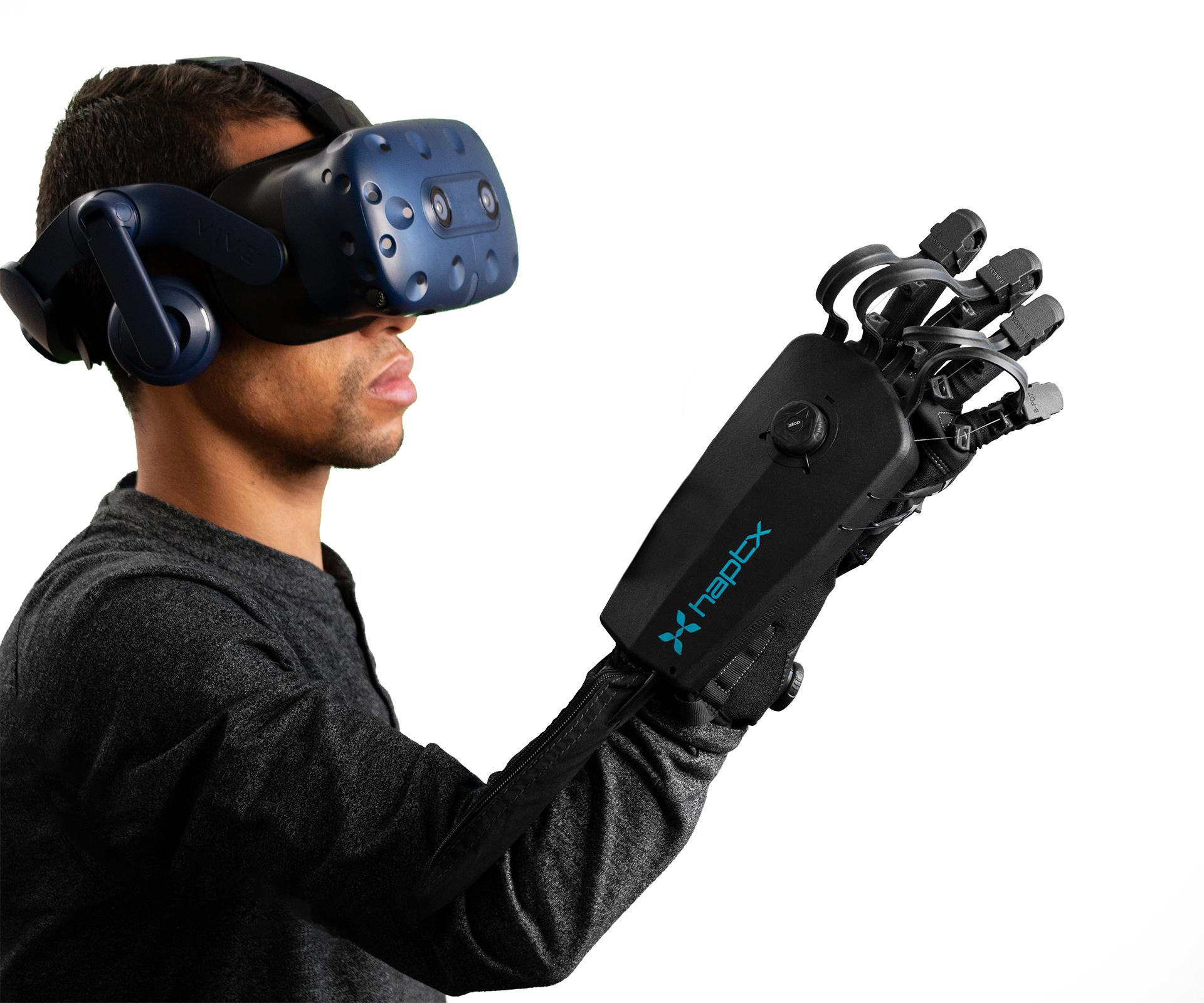 HaptX launches HaptX Gloves DK2 to bring true-contact haptics to VR and robotics