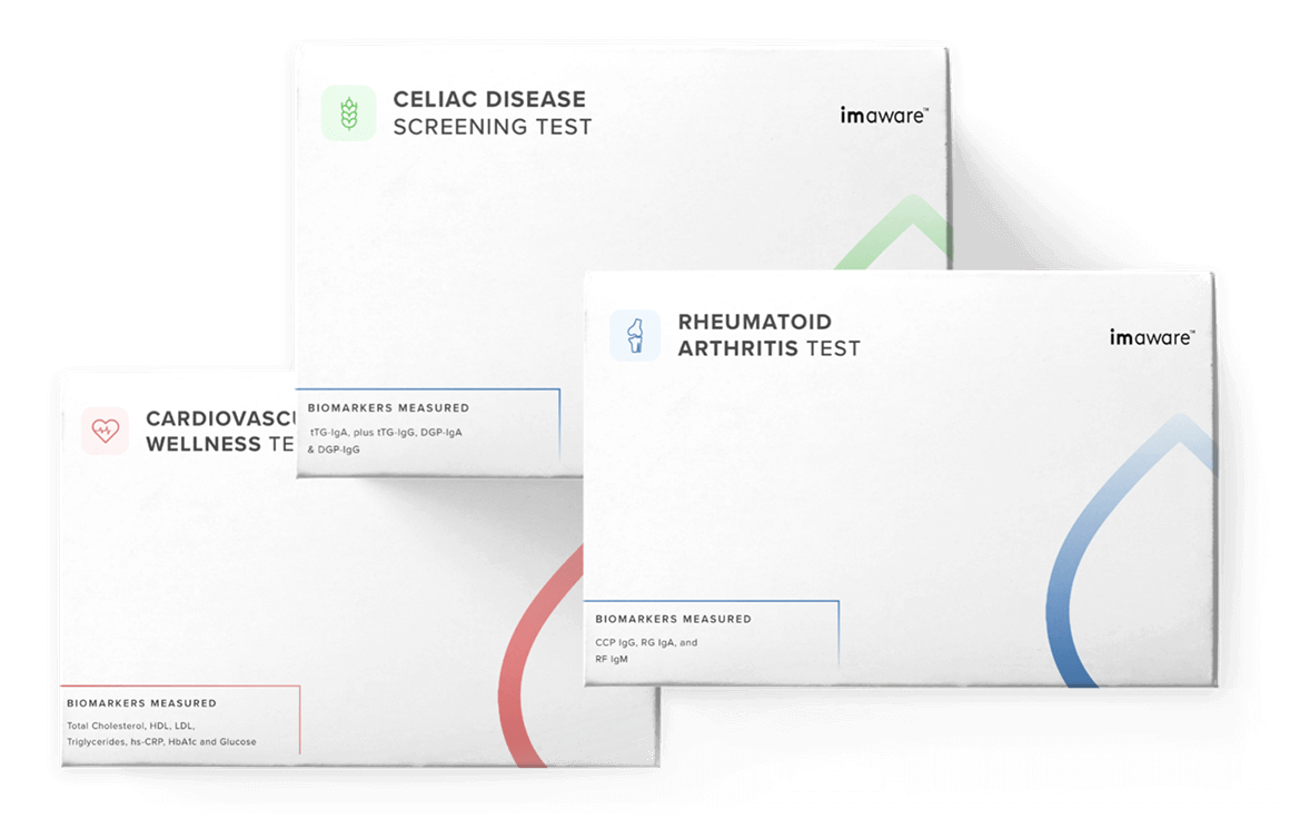 The Most Comprehensive At-Home Health Test Kits   imaware™