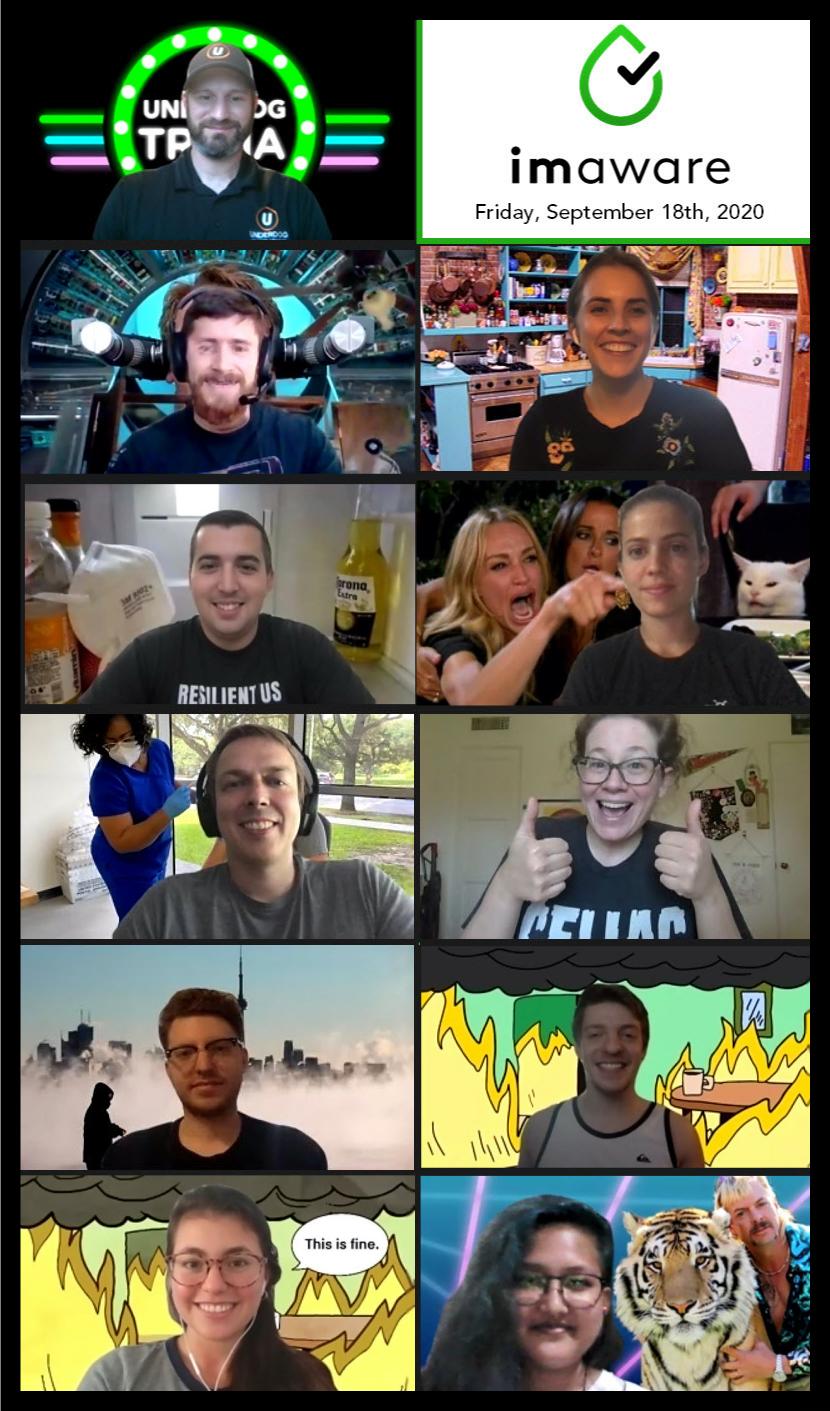 Company culture collage