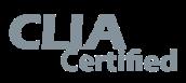 CLIA Certified logo