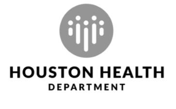 Houston Health Department logo