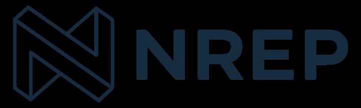 NREP logo blue