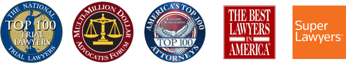 top-rated personal injury lawyer awards