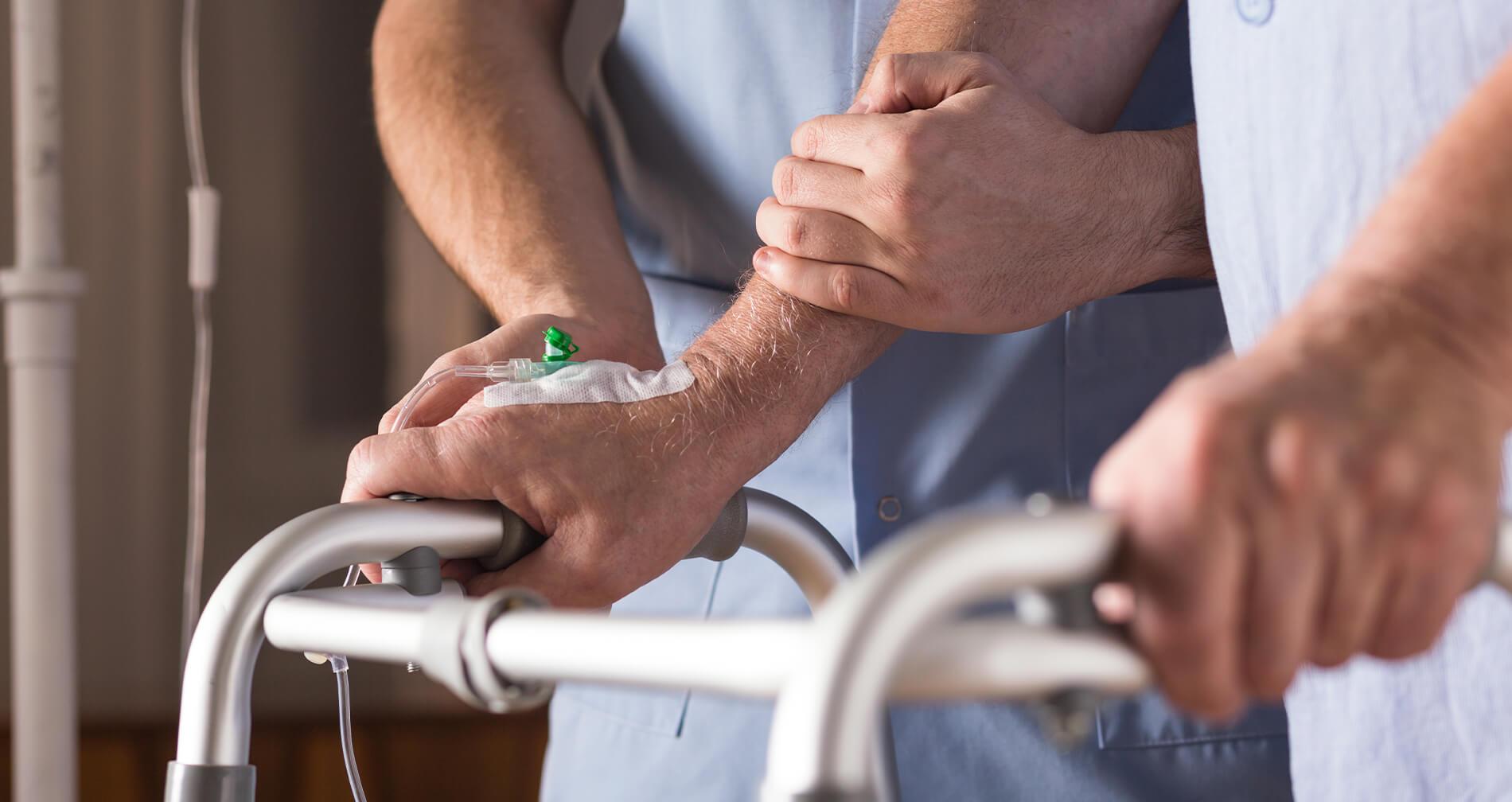 elderly patient being abused in New York nursing home