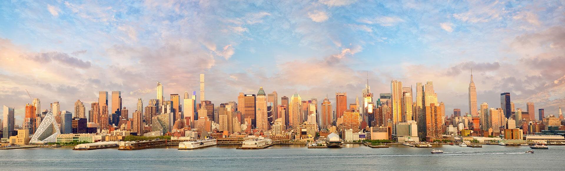 曼哈顿天际线