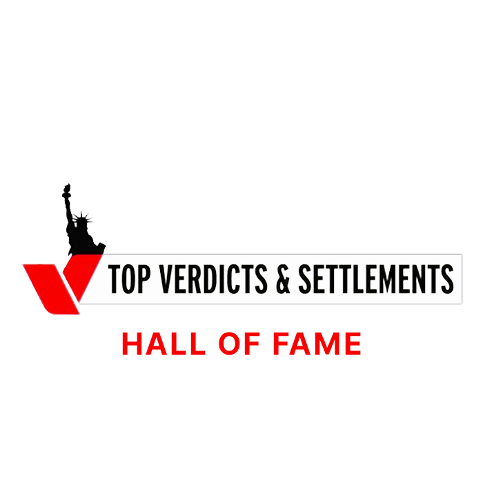 New York Law Journal, Top Verdicts & Settlements Hall Of Fame award