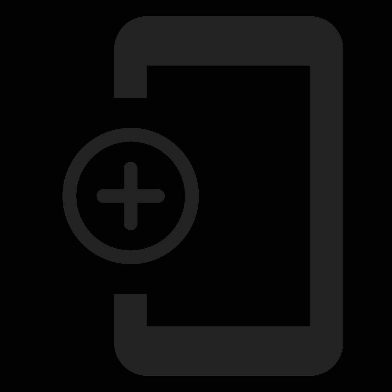 Create link or QR code screen