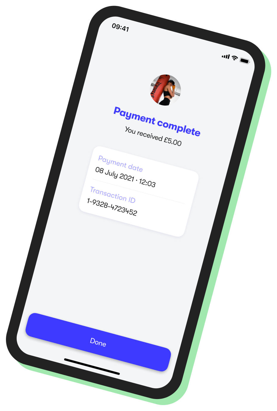 Payments History Screen