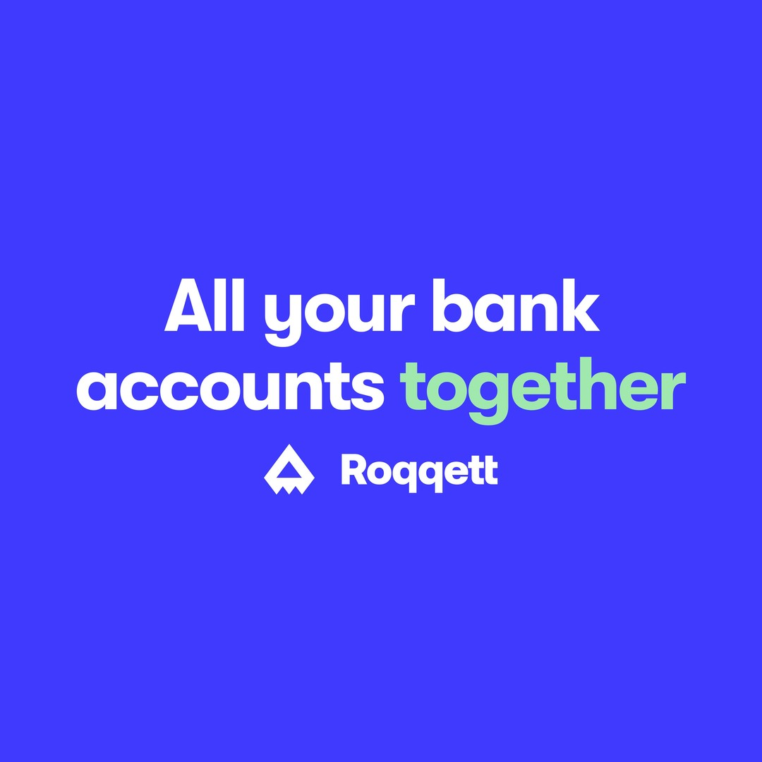 Manage money better. See all balances. See all transactions. Move money between your accounts. � Roqqett makes it all simple, all on your mobile. � � Launching soon! Stay tuned 🚀