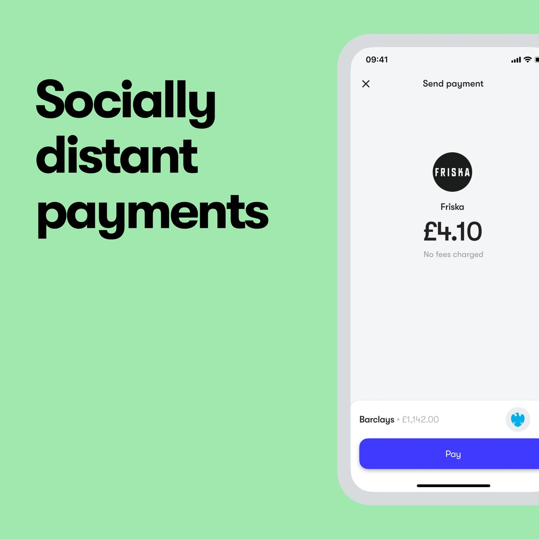 Pay from over 2 metres away 🤯. � � No cards. No card readers. Just an app. � � We make truly socially-distanced payments a reality. � � #PayBetter