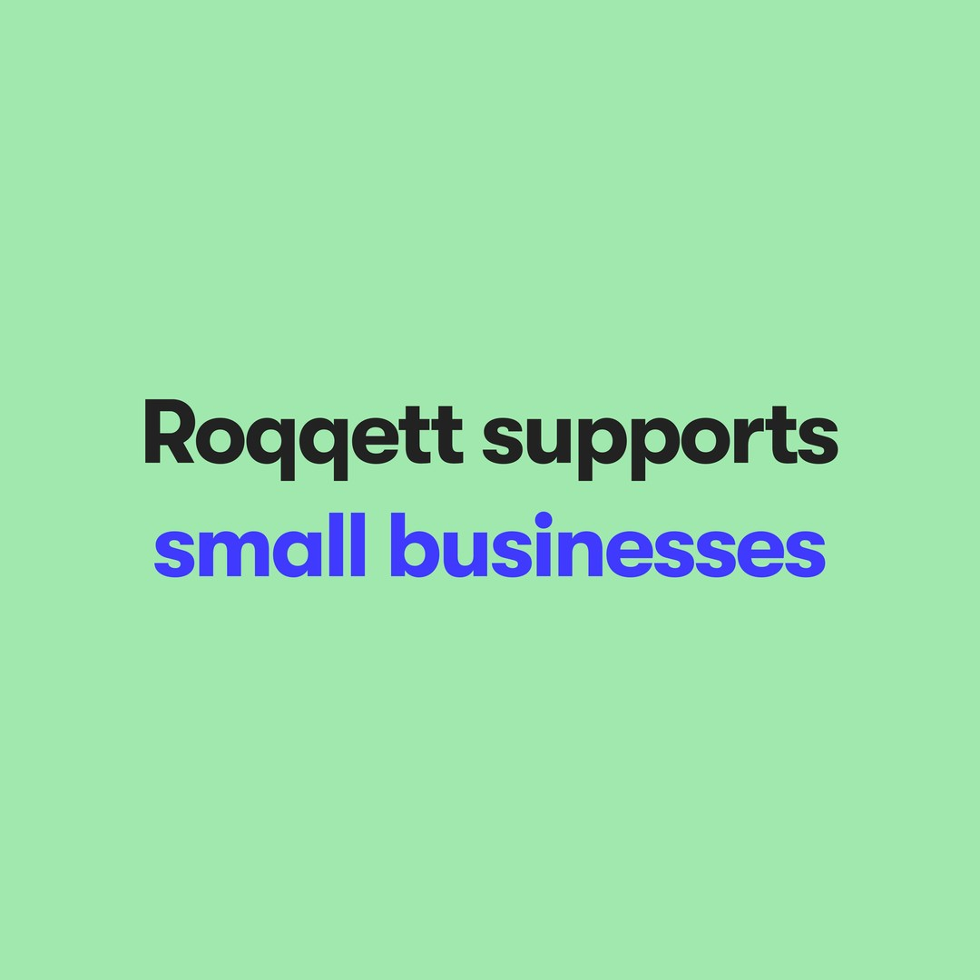 When you spend with Roqqett, businesses keep more of their money and N O T H I N G goes to big card companies #SupportSmall� � #PayBetter with Roqqett 🚀 .