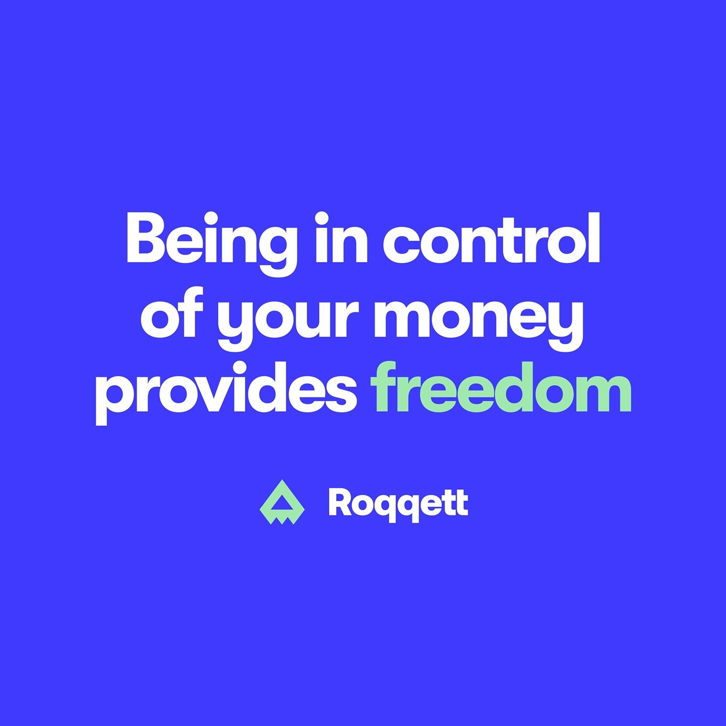 Anyone set any money management goals for September? 🎯💸 � � With all your bank accounts in one place, Roqqett lets you take control of your money.
