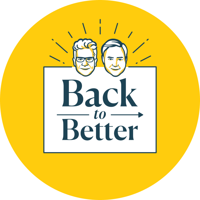 Back to Better Podcast Logo