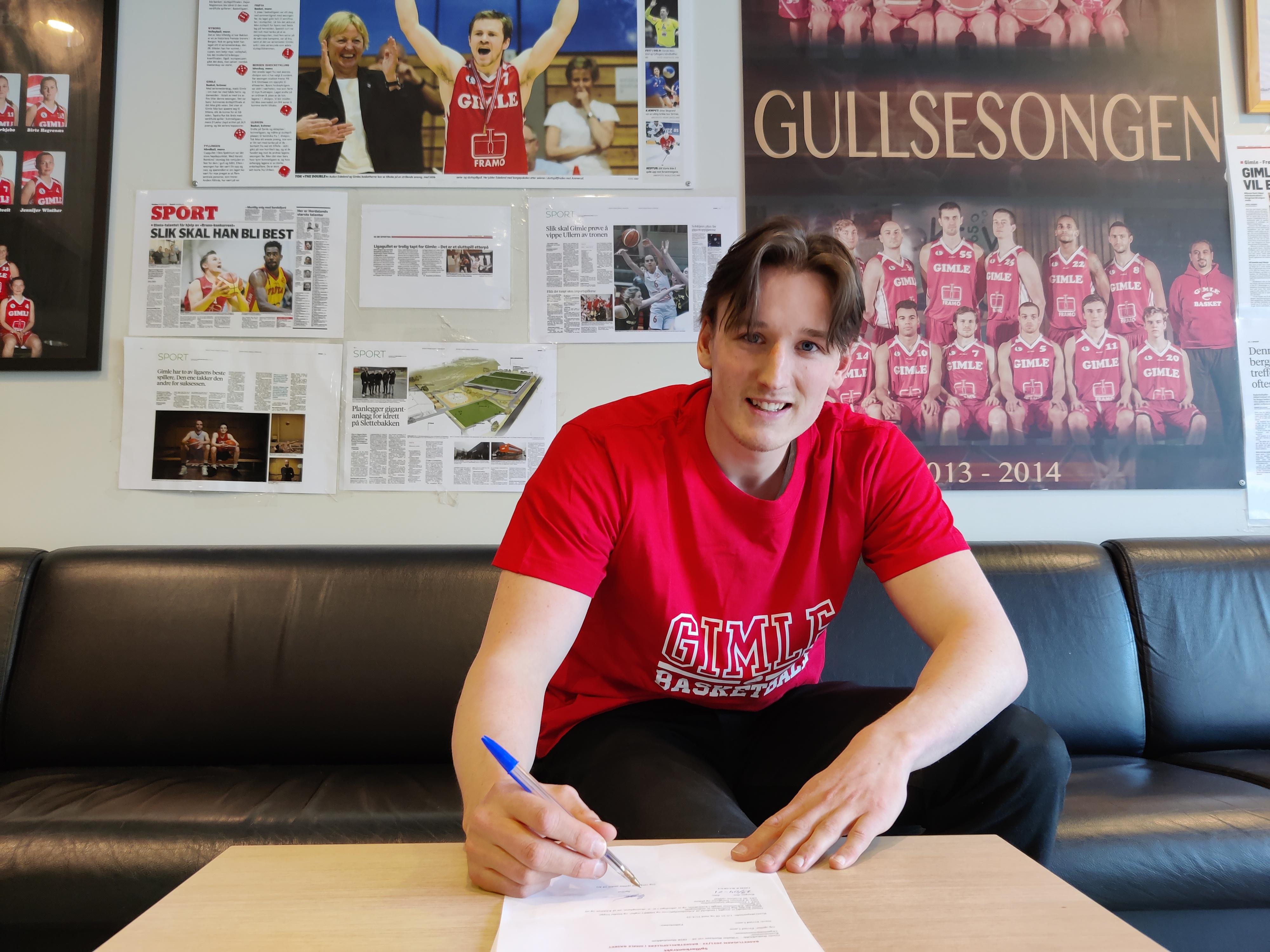 Gimle kan med glede meddele at Eivind Lamo har signert ny kontrakt med BLNO-laget.