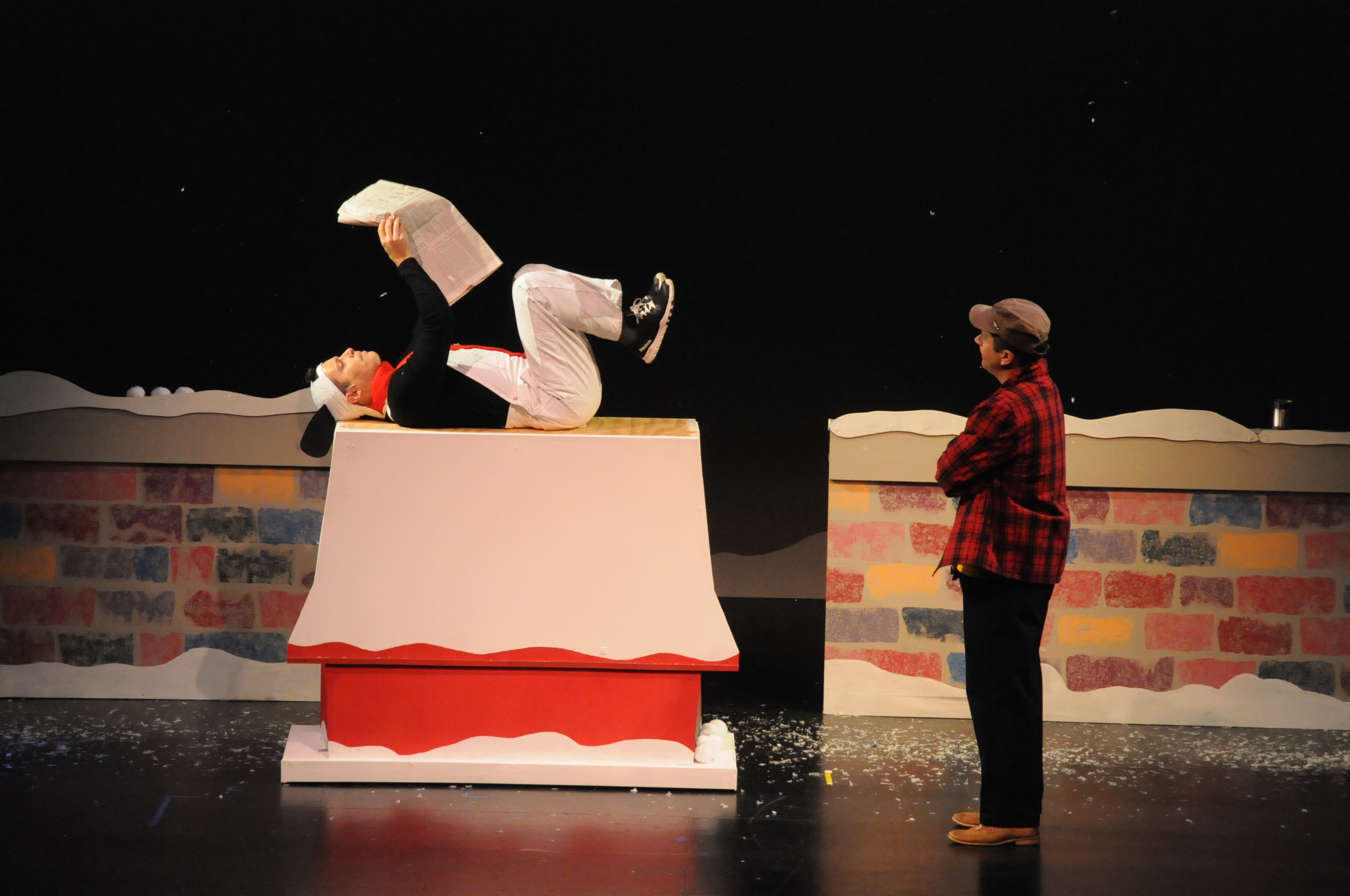 """""""A Charlie Brown Christmas"""" - presented by Henrico Theatre Company"""