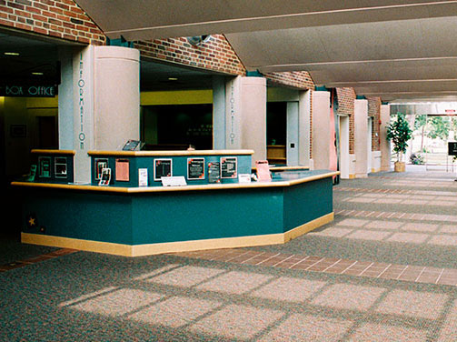 The Cultural Arts Center Lobby