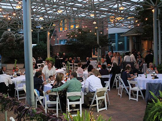 Sculpture Garden Event at The Center