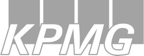 Logo of KPMG, global consulting and accounting firm