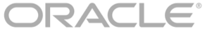 Logo of Oracle, global software firm