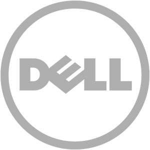 Logo of Dell, global computer manufacturer