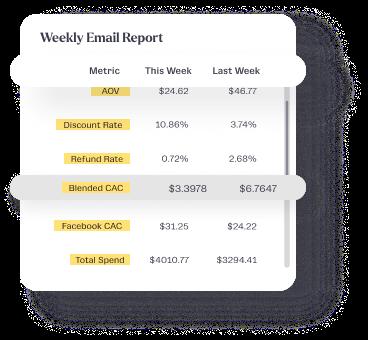 Tydo Email Report