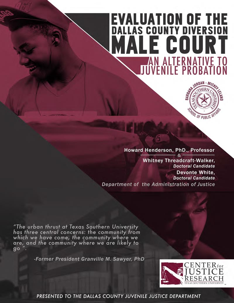 Evaluation of the Dallas County Diversion Male Court