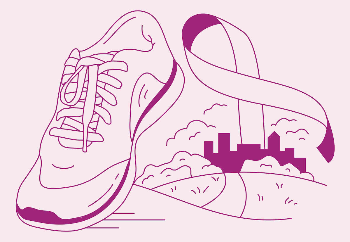 Walking for Breast Cancer Awareness in 2020