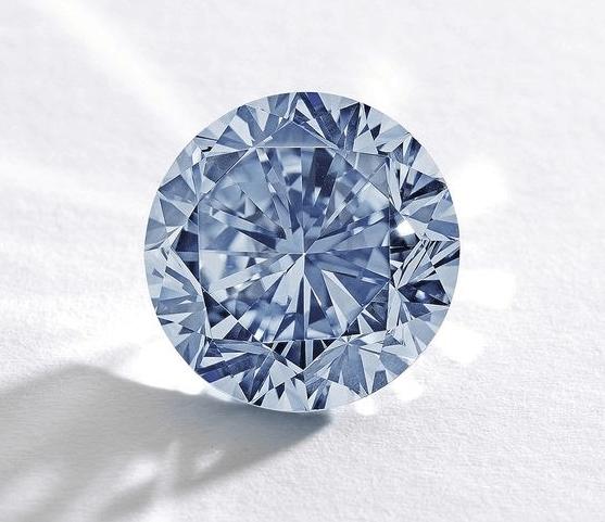 blue memorial diamond picture