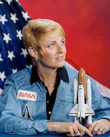 First Female Scientist in Space