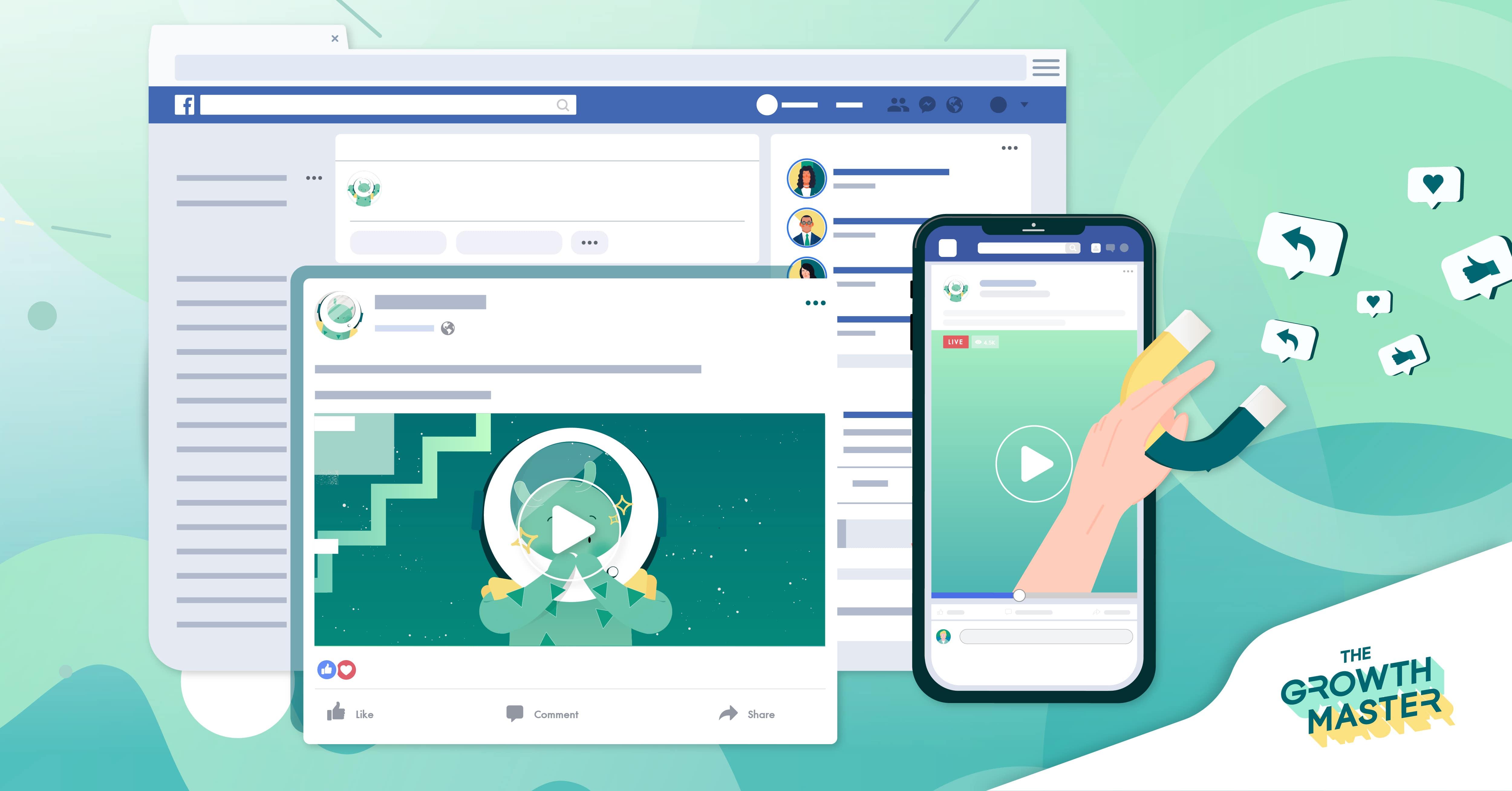 5 เทคนิคสร้างสรรค์ Facebook Video Content ให้ดึงดูดกลุ่มเป้าหมาย เพิ่มมากขึ้น
