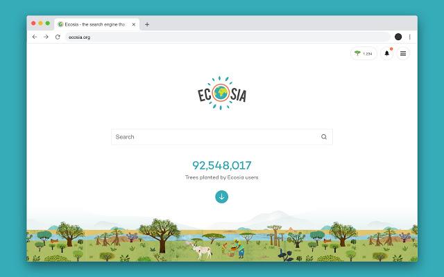 Ecosia คือ