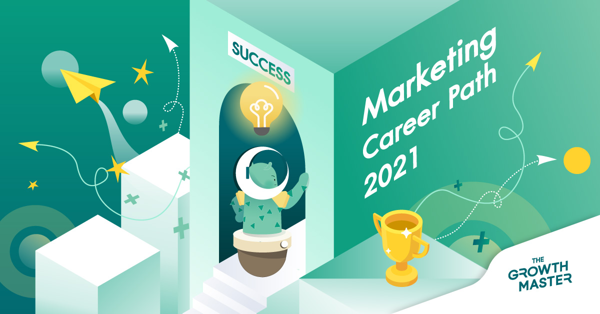 Marketing Career Path เส้นทางการเติบโตนักการตลาดอัปเดตฉบับปี 2021