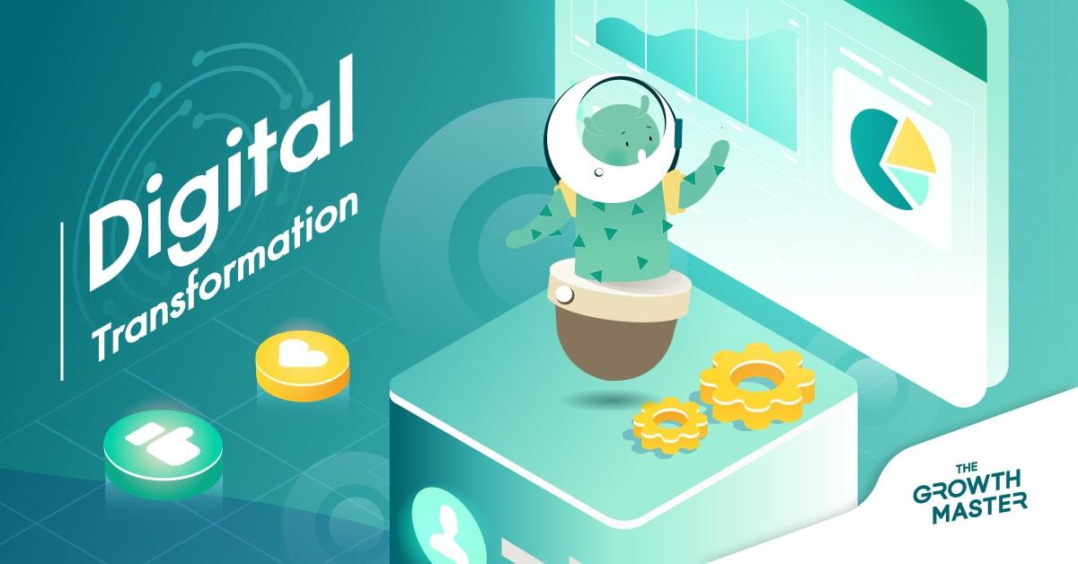 5 เหตุผลว่าทำไมองค์กรของคุณควรปรับตัวเข้าสู่ยุค Digital Transformation ในปี 2021