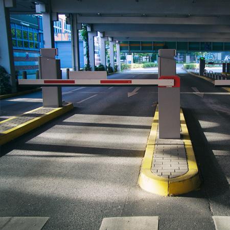 A car park barrier