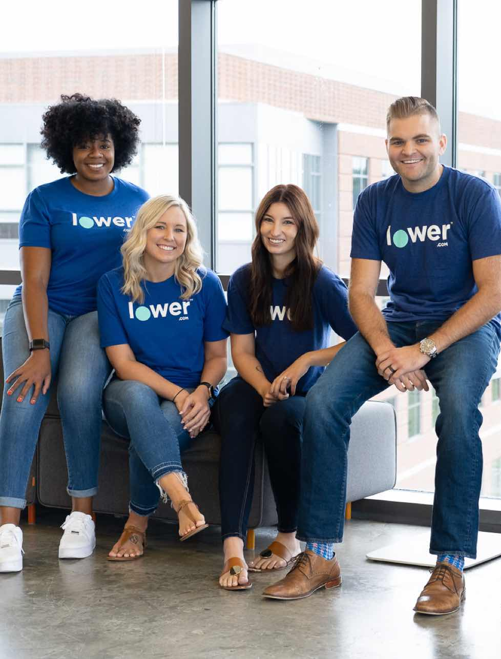 Friendly Lower employees ready to help you with all your mortgage needs, able to answer your every question