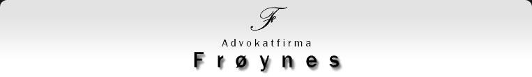 Advokatfirma Frøynes