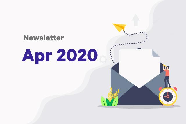 Newsletter: April 2020