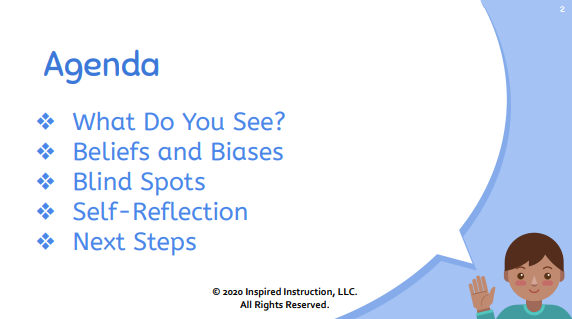 The recognition of bias and the self-reflection process