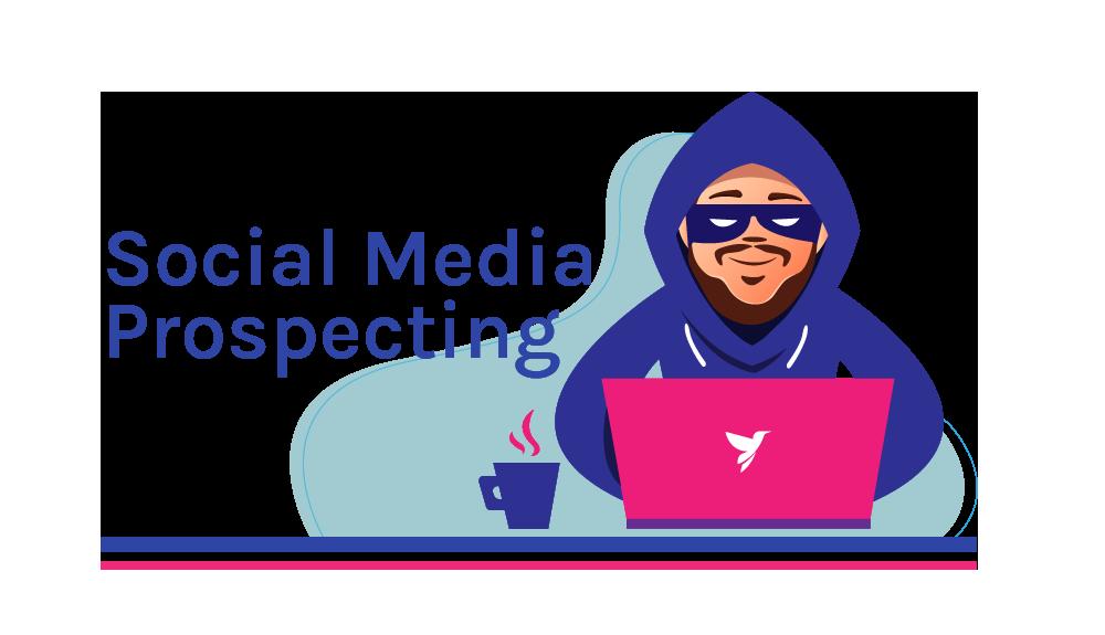 social media prospecting hack