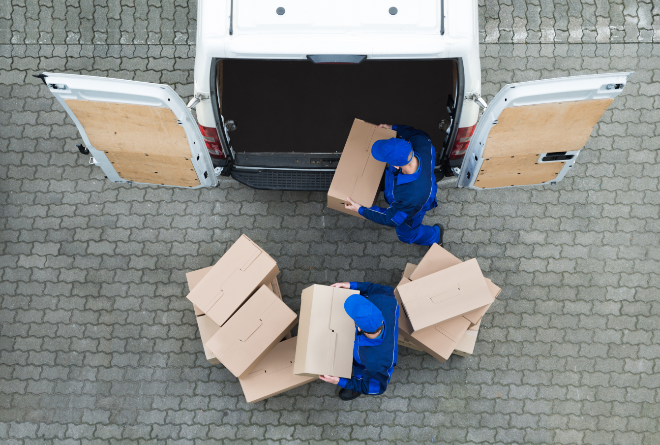 Deliveries have variable carbon footprints