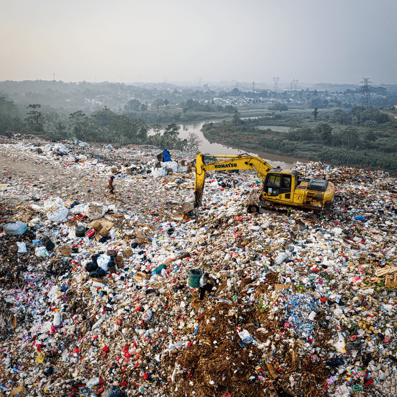 How Do Landfills Contribute to Global Warming?