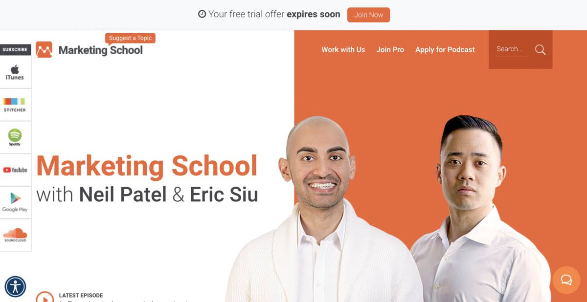 Marketing School Podcast